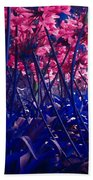 Blue Jungle Beach Towel