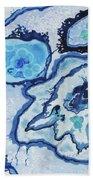 Blue Lace Agate I Beach Towel