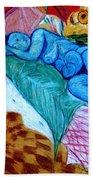 Blue Lady Beach Towel