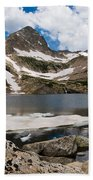 Blue Lake Colorado Beach Towel