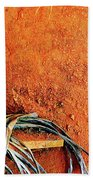 Blue Lantern Beach Towel