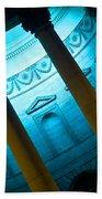 Blue Light Beach Towel