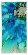 Blue Magnificence Beach Towel
