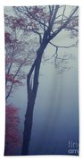 Blue Mist Beach Towel