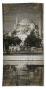 Blue Mosque - Sketch Beach Towel