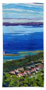 Blue Mountain Blues Beach Towel