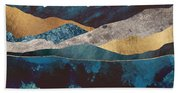 Blue Mountain Reflection Beach Towel