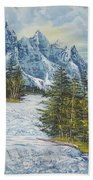 Blue Mountain Torrent Beach Towel