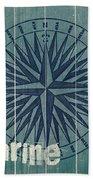 Blue Nautical-jp3616 Beach Towel