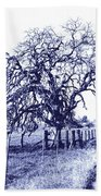 Blue Oak Beach Towel