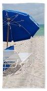 Blue Paradise Umbrella Beach Towel