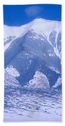 Blue Peaks Beach Towel