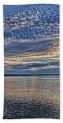 Blue Persuasion Beach Towel