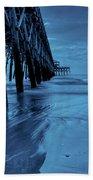 Blue Pier Beach Towel