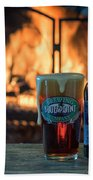 Blue Point Winter Ale By The Fire Beach Towel