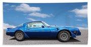 Blue Pontiac Trans Am 1978 Beach Towel