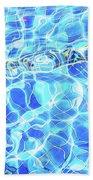 Blue Rhapsody  Beach Towel