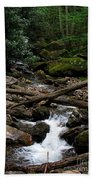Blue Ridge Brook Beach Towel