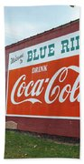 Blue Ridge Coke Beach Towel