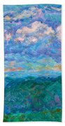 Blue Ridge Magic From Sharp Top Stage One Beach Towel