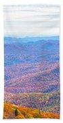 Blue Ridge Mountains 3 Beach Towel
