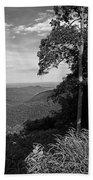 Blue Ridge Mountains - Virginia Bw 10 Beach Towel