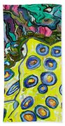 Blue Ringed Octopus Beach Towel
