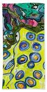 Blue Ringed Octopus Beach Towel