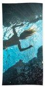 Blue Room Beach Towel
