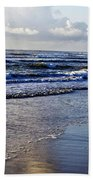 Blue Sea Beach Towel