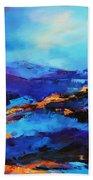 Blue Shades Beach Towel