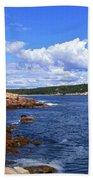 Blue Skies In Maine Beach Sheet