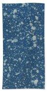 Blue Speckle Beach Towel