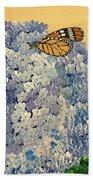 Blue Splendor Beach Towel