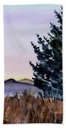 Blue Spruce Beach Towel