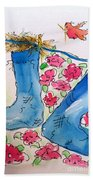 Blue Stockings Beach Sheet