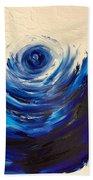 Blue Storm Beach Towel