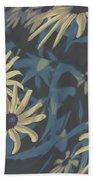 Blue Sunshine  Beach Towel
