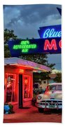 Blue Swallow Motel Beach Towel