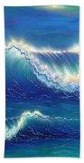 Blue Thunder Beach Towel