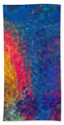 Blue Tornado 3 Beach Towel