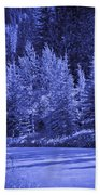 Blue Vail Beach Towel