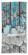Blue Valley Beach Towel
