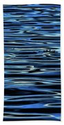 Blue Waves Beach Towel