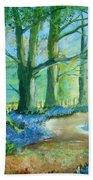 Bluebell Walk Beach Towel