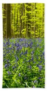 Bluebell Wood Beach Towel