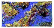 Blueberry Mash Beach Sheet