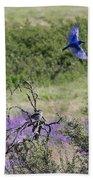 Bluebird Pair In Blickleton Beach Towel