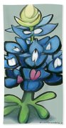 Bluebonnet Beach Towel
