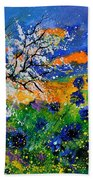 Bluecornflowers 451120 Beach Towel